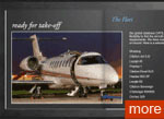 International Air Charter Brochure, realized by Mpjdesign Ltd